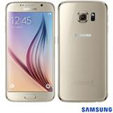 Samsung Galaxy S6 Dourado Samsung, com Tela de 5,1, 4G, 32 GB e Câmera de 16 MP – G920I