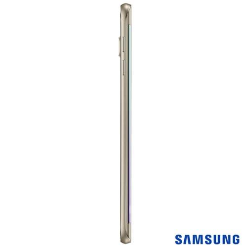 Samsung Galaxy S6 Edge + Dourado, com Tela de 5,7