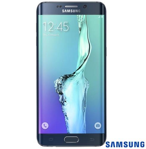 """Smartphone Samsung Galaxy S6 Edge + Preto com 5.7"""", 4G, Android 5.1, Octa-Core 2.1 GHz, 32 GB, Câmera de 16 MP, Bivolt, Bivolt, Preto, 0000005.70, True, 1, N, True, True, True, True, True, True, I, Galaxy S6+, Android, Wi-Fi + 4G, 5.7'', Acima de 4'', Sim, Octa Core, 32 GB, 16.0 MP, 1, Não, Sim, Sim, Não, Sim, 12 meses, Nano Chip"""