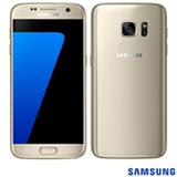 """Samsung Galaxy S7 Dourado, com Tela de 5.1"""", 4G, 32 GB e Câmera de 12 MP - SM-G930F"""