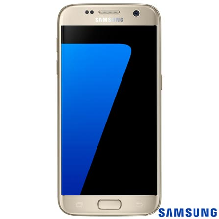 """Samsung Galaxy S7 Dourado, com Tela de 5.1"""", 4G, 32 GB e Câmera de 12 MP - SM-G930F, Dourado, 0000005.10, True, 1, N, True, True, True, True, True, True, I, Galaxy S7, Android, Wi-Fi + 4G, 5.1'', Acima de 4'', Sim, Octa Core, 32 GB, 12 MP, 1, Não, Sim, Sim, Não, Sim, 12 meses, Nano Chip"""