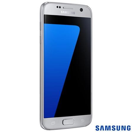 """Samsung Galaxy S7 Prata Samsung, com Tela de 5.1"""", 4G, 32 GB e Câmera de 12 MP - SM-G930F, Prata, 0000005.10, True, 1, N, True, True, True, True, True, True, I, Galaxy S7, Android, Wi-Fi + 4G, 5.1'', Acima de 4'', Sim, Octa Core, 32 GB, 12 MP, 1, Não, Sim, Sim, Não, Sim, 12 meses, Nano Chip"""