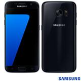 """Samsung Galaxy S7 Preto, com Tela de 5.1"""", 4G, 32 GB e Câmera de 12 MP - SM-G930F"""