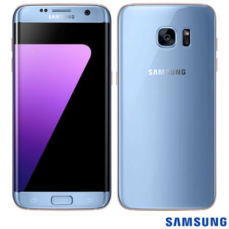 """Samsung Galaxy S7 Edge Azul, com Tela de 5.5"""", 4G, 32 GB e Câmera de 12 MP - SM-G935F, Bivolt, Bivolt, Azul, 0000005.50, True, 1, N, True, True, True, True, True, True, I, Galaxy S7 Edge, Android, Wi-Fi + 4G, 5.5'', Acima de 4'', Sim, Octa Core, 32 GB, 12 MP, 1, Não, Sim, Sim, Não, Sim, 12 meses, Nano Chip"""