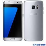 """Samsung Galaxy S7 Edge Prata com Tela de 5,5"""", 4G, 32 GB e Câmera de 12 MP - SM-G935F"""