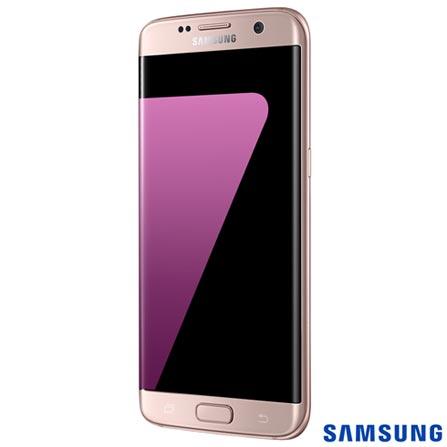 """Samsung Galaxy S7 Edge Rosa com Tela de 5,5"""", 4G, 32 GB e Câmera de 12 MP - SM-G935F, Bivolt, Bivolt, Rosa, 0000005.50, True, 1, N, True, True, True, True, True, True, I, Galaxy S7 Edge, Android, Wi-Fi + 4G, 5.5'', Acima de 4'', Sim, Octa Core, 32 GB, 12 MP, 1, Não, Sim, Sim, Não, Sim, 12 meses, Nano Chip"""