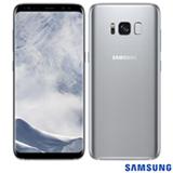 """Samsung Galaxy S8 Prata, com Tela de 5,8"""", 4G, 64 GB e Câmera de 12 MP - SM-G950"""