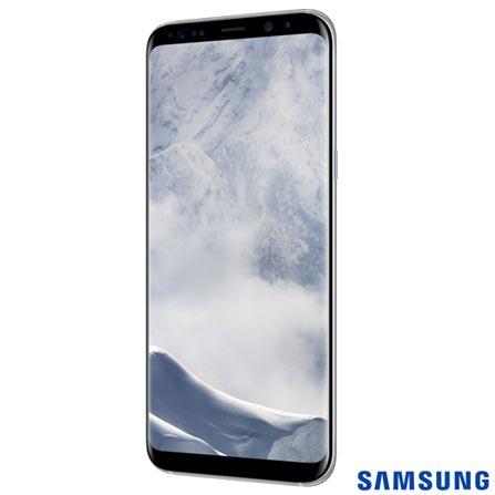"""Samsung Galaxy S8 Plus Prata, com Tela de 6,2"""", 4G, 64 GB e Câmera de 12 MP - SM-G955, Bivolt, Bivolt, Prata, 0000006.20, True, 1, N, True, True, True, True, True, True, I, Galaxy S8+, Android, Wi-Fi + 4G, 6.2'', Acima de 4'', Sim, Octa Core, 64 GB, 12 MP, 2, Não, Sim, Sim, Não, Sim, 12 meses, Nano Chip"""