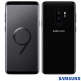 """Samsung Galaxy S9+ Preto, com Tela de 6,2"""", 4G, 128 GB e Câmera Dupla 12MP+12MP - SGG965"""