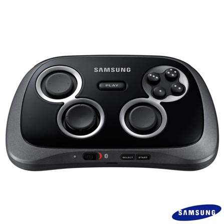 Game Pad Joystick para Smartphone Preto Samsung - EIGP20, Bivolt, Bivolt, 03 meses