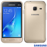 """Samsung Galaxy J1 Mini Dourado, com Tela de 4.0"""", 3G, 08 GB e Câmera de 05 MP - SM -J105BZDDZTO"""
