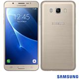 """Samsung Galaxy J7 Metal Dourado, com Tela de 5,5"""", 4G, 16 GB e Câmera de 13 MP - SM-J710MZDUZTO"""