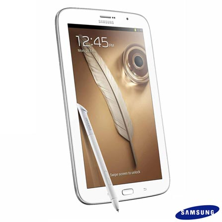 Tablet Galaxy Note 8.0 com Tela de 8