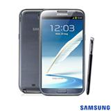 Tablet Samsung Galaxy Note II com Display 5.5', 3G, Android 4.1, e 16GB de Memória e Caneta S-PEN, Cinza - N7100