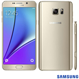 """Samsung Galaxy Note 5 Dourado, com Tela de 5,7"""", 4G,32 GB e Câmera de 16 MP - N920"""