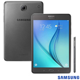 Tablet Samsung Galaxy Tab A Cinza com 8, 4G, Android 5.0, Processador Quad-Core 1.2 GHz e 16 GB