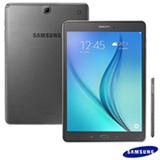 "Tablet Samsung Galaxy Tab A Cinza com 9,7"", Wi-Fi, Android 5.0, Processador Quad-Core 1.2 GHz e 16GB"