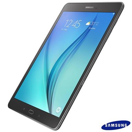 "Tablet Samsung Galaxy Tab A Cinza com 9,7"", Wi-Fi, Android 5.0, Processador Quad-Core 1.2 GHz e 16GB, Cinza, 0000009.70, Sim, 16 GB, Wi-Fi, Wi-Fi, 5.0 MP, 1, N, Sim, 12 meses, Sim, 126310, Quad Core, Não, Android, Não, Até 10'', 9.7'', TFT, SAMSUNG, QUAD-CORE, 000016, Android, 0000009.70, 9.7 Polegadas"