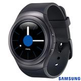 Gear S2 Samsung Cinza com 1,2', Pulseira de Elastometro, Wi-fi e 4 GB
