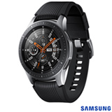 "Galaxy Watch BT 46mm Samsung Prata com 1,3"", Pulseira de Silicone, Bluetooth 4.2 e 4 GB"