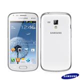 """Samsung Galaxy S Duos Branco, com Tela de 4"""", 3G, 3GB e Câmera de 5 MP - S7562"""