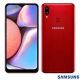 Samsung Galaxy A10s Vermelho, com Tela de 6,2', 4G, 32GB e Câmera Dupla 13MP + 2MP - SM-A107MZRDZTO