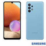Samsung Galaxy A32 Azul, com Tela Infinita de 6,4', 4G, 128GB e Câmera Quádrupla de 64MP+8MP+5MP+2MP - SM-A325MZBKZTO