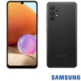 Samsung Galaxy A32 Preto, com Tela Infinita de 6,4', 4G, 128GB e Câmera Quádrupla de 64MP+8MP+5MP+2MP - SM-A325MZKKZTO
