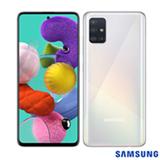"""Samsung Galaxy A51 Branco, com Tela Infinita de 6.5"""", 4G, 128GB e Câmera Quádrupla 48MP+12MP+5MP+5MP -SM-A515FZWBZTO"""