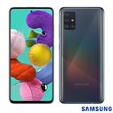 """Samsung Galaxy A51 Preto, com Tela Infinita de 6.5"""", 4G, 128GB e Câmera Quádrupla 48MP+12MP+5MP+5MP - SM-A515FZKBZTO"""
