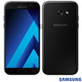 """Samsung Galaxy A5 2017 Preto, com Tela de 5,2"""", 4G, 64 GB e Câmera de 16 MP - SM-A520FZ"""