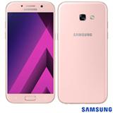 """Samsung Galaxy A5 2017 Rosa, com Tela de 5,2"""", 4G, 64 GB e Câmera de 16 MP - SM-A520FZ"""