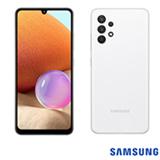 Samsung Galaxy A32 Branco, com Tela Infinita de 6,4', 4G, 128GB e Câmera Quádrupla de 64MP+8MP+5MP+2MP - SM-A325MZWKZTO