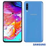 Samsung Galaxy A70 Azul, com Tela de 6,7', 4G, 128GB e Câmera Tripla 32MP+5MP+8MP - SM-A705MZ