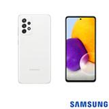 Samsung Galaxy A72 Branco, com Tela de 6,7', 4G, 128GB e Câmera Quádrupla 64MP + 12MP + 8MP +5MP - SM-A725MZWDZTO