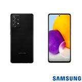 Samsung Galaxy A72 Preto, com Tela de 6,7', 4G, 128GB e Câmera Quádrupla 64MP + 12MP + 8MP +5MP - SM-A725MZKDZTO