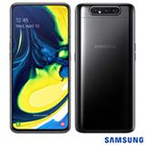 Samsung Galaxy A80 Preto, com Tela Infinita 6,7', 4G, 128GB e Câmera Tripla 48MP + 8MP + ToF - SM-A805FZKJZTO