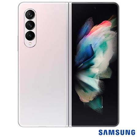 Celular Smartphone Samsung Galaxy Z Fold 3 F926b 512gb Prata - Dual Chip
