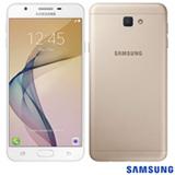 """Samsung Galaxy J7 Prime Dourado, com Tela de 5,5"""", 4G, 32 GB e Câmera de 13 MP - SM-G610"""