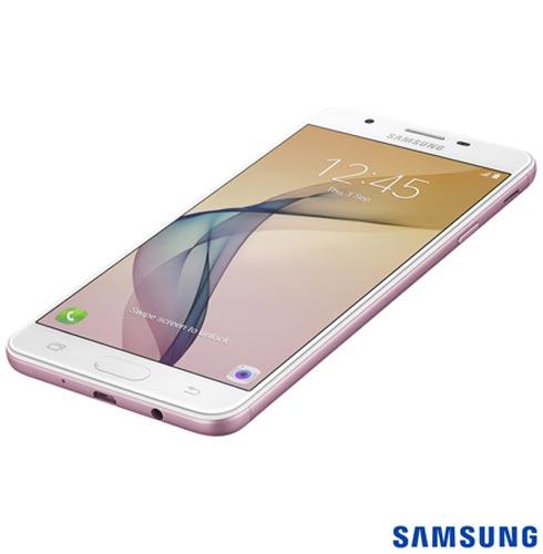 """Samsung Galaxy J7 Prime Rosa, com Tela de 5,5"""", 4G, 32 GB e Câmera de 13 MP - SM-G610, Bivolt, Bivolt, Rosa, 0000005.50, True, 1, N, True, True, True, True, True, True, I, Galaxy J7 Prime, Android, Wi-Fi + 4G, 5.5'', Acima de 4'', Sim, Octa Core, 32 GB, 13.0 MP, 2, Não, Sim, Sim, Sim, Sim, 12 meses, Nano Chip"""