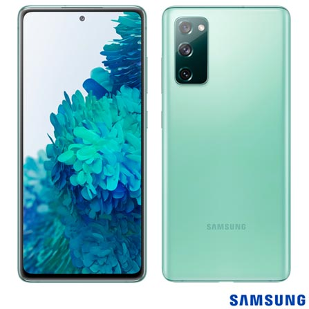 Celular Smartphone Samsung Galaxy S20 Fe G780f 128gb Verde - Dual Chip