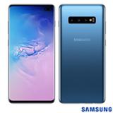 """Samsung Galaxy S10+ Azul, com Tela de 6,4"""", 4G, 128 GB e Câmera Tripla de 12MP + 12MP + 16MP - SM-G975FZBJZTO"""