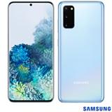 """Samsung Galaxy S20 Azul, com Tela Infinita de 6,2"""", 4G, 128GB, Câmera Tripla de 64MP+12MP+12MP - SM-G980FLBJZTO"""