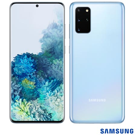 Celular Smartphone Samsung Galaxy S20 Plus 128gb Azul - Dual Chip