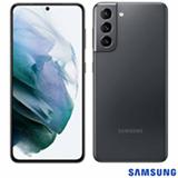 """Samsung Galaxy S21 Cinza, com Tela Infinita de 6,2"""", 5G, 128GB, Câmera Tripla de 12MP+64MP+12MP - SM-G991BZAJZTO"""