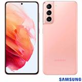 """Samsung Galaxy S21 Rosa, com Tela Infinita de 6,2"""", 5G, 128GB, Câmera Tripla de 12MP+64MP+12MP - SM-G991BZIJZTO"""