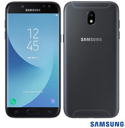 Samsung Galaxy J5 Pro Duos Preto Com Tela 5,2, 4g, 32 Gb e Câmera de 13 Mp - Sm-j530gzkqzto - Sgsmj530pto Bivolt