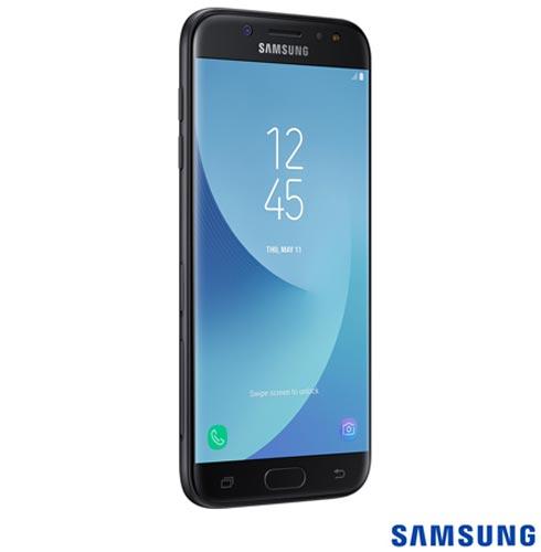 """Samsung Galaxy J5 Pro Duos Preto com Tela 5,2"""", 4G, 32 GB e Câmera de 13 MP - SM-J530GZKQZTO, Bivolt, Bivolt, Preto, 0000005.20, True, 1, N, True, True, True, True, True, True, I, Galaxy J5 Pro, Android, Wi-Fi + 4G, 5.2'', Acima de 4'', Sim, Octa Core, 32 GB, 13.0 MP, 2, Não, Sim, Sim, Sim, Sim, 12 meses, Nano Chip"""
