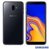 """Samsung Galaxy J6+ Preto com Tela de 6"""", 4G, 32 GB e Câmera de 13 MP+ 5MP - SM-J610GZKJZTO"""