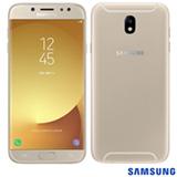 """Samsung Galaxy J7 Pro Dourado com 5,5"""", 4G, Android 7.0, Octa Core 1.6 GHz, 64 GB e Câmera de 13MP"""